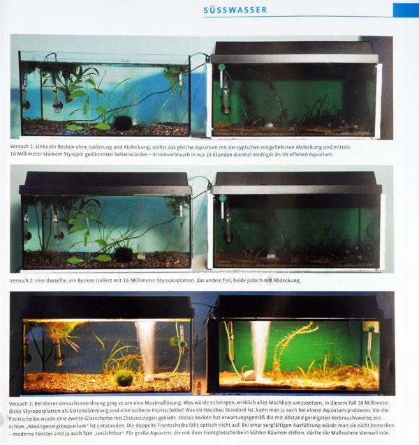 Så blir mitt akvarium miljövänligare