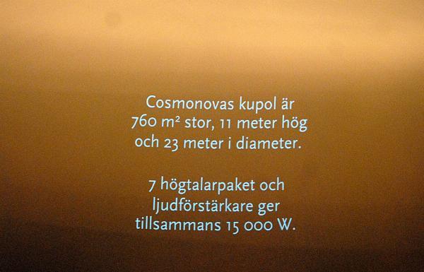 Lördag - Cosmonova
