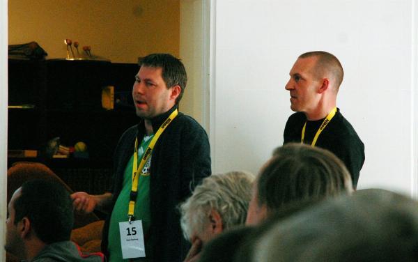 Rune Evjeberg + Kai Qvist